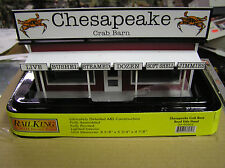 MTH RAIL KING CHESAPEAKE CRAB BARN ROAD STAND  30-90503