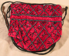"Exquisite, unusual Vintage velvet Glass purses-""glass-bead"" bags-sumptuous"