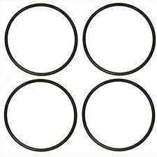"""4 TRACTION RUBBER TIRES for HO Gauge Trains 3/8""""dia .050 Width /9.5mm x 1.5mm"""
