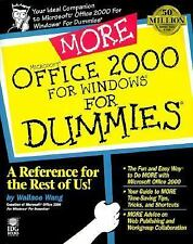 More Microsoft Office 2000 for Windows For Dummies (For Dummies (Compu-ExLibrary