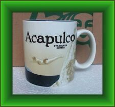 Starbucks Mug Acapulco Mexico Icon Series -16 oz  BRAND NEW LIMITED EDITION RARE