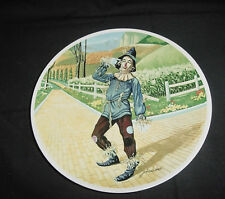 KNOWLES COLLECTOR PLATE WIZARD OF OZ IF I ONLY HAD A BRAIN SCARECROW 2ND EDITION