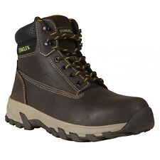 Stanley Tradesman Brown Leather Safety Work Boot Size 9 Special offer