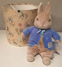 Beatrix Potter Handmade Lampshade, 25cm, Nursery,  Peter Rabbit, Ceiling Or Lamp
