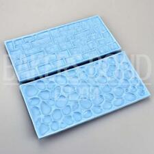 Cobble & Pietra Muro di mattoni Chicco Impression Mat TORTA sbalzo Fondant Icing Sugar