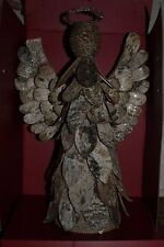 NWT Pottery Barn Lit Birch Angel Christmas tree topper