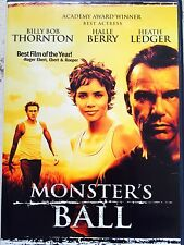 Halle Berry Heath Ledger Billy Bob Thorton MONSTER'S BALL ~ 2002 | US R1 DVD