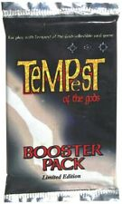 TEMPEST OF THE GODS - CCG - BOOSTER PACK