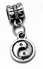 Authentic Sterling Silver dangle charm European BEAD jewelry Chinese Yin Yang