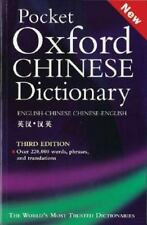 Pocket Oxford Chinese Dictionary: English-Chinese, Chinese-English (Third Editio