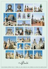 Antoni Gaudi esculturas poster Art Imprimé Image Affiche 70x100cm