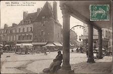PONTIVY (56) - Les Trois Piliers de la Maison de la Place du Martray
