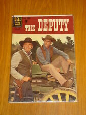 FOUR COLOUR #1130 FN (6.0) DELL WESTERN 1960 THE DEPUTY