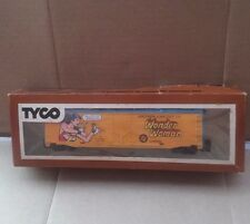 VINTAGE TYCO HO SCALE WONDER WOMAN FREIGHT CAR 368-C