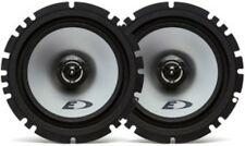 "NEW (2) 6.5"" Shallow Mount 2-way Car Audio Speakers.4 ohm Stereo Pair.OEM Door."