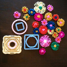 Flowers loom knitting board yarn craft Daisy Pattern maker Knit Hobby Tool Kits
