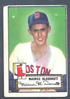 1952 Topps #119 Maurice McDermott Pitcher Boston Red Sox VG (OC)