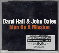 DARYL HALL & JOHN OATES - MAN ON A MISSION - 2003 CD promo Japan Victor CDS-1461