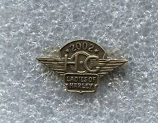 HARLEY DAVIDSON 2002 LADIES of HARLEY PIN