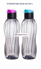 Tupperware Eco Black Flip Top Water Bottle - 310 ml - Set of 2- Free shipping