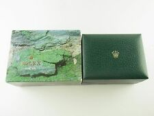 Original Rolex Box Etui mit Umkarton vintage 70er Jahre green leather box