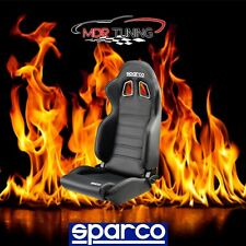 New Sparco R100 Street Reclinable Racing Seat Black PN 00961NRSKY FREE SHIPPING