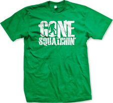 Gone Squatchin' - Bigfoot Sasquatch Slogans Sayings Statements - Men's T-shirt
