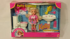 NIB Mattel Kelly Baby Sister of Barbie, Potty Training Kelly  #16066, 1996
