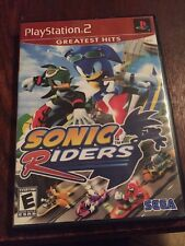Sonic Riders - Playstation 2 Game Disc And Case