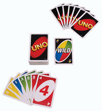 Hot Standard Uno Card Game Family Children Friends 108 Playing Fun Cards