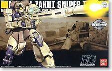 BANDAI HGUC 1/144 MS-05L ZAKU I SNIPER TYPE Plastic Model Kit Mobile Suit Gundam