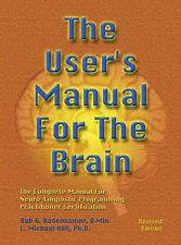 User's Manual for the Brain Vol 1 Bodenhamer/Hall Cased 9781899836321