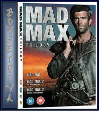 MAD MAX TRILOGY- COMPLETE 1 2 3 MOVIES - BRAND NEW DVD