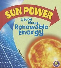 Sun Power: A Book about Renewable Energy (Earth Matters)-ExLibrary