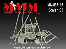 1/35 Scale Farm Accessories & Tools - great model diorama