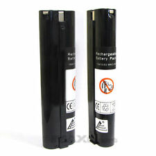 2 x 9.6V 3000mAh Ni-Mh Battery for MAKITA 6092DW 6094DW 6095DW 6900DW ML902