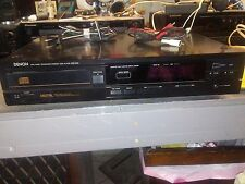 Vintage 1987 DENON Single Cd player works good DCD-600 Digital Linear NO REMOTE