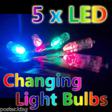 5 x LED Color Changing Balloon Light Lamp Party Birthday Wedding Christmas 5pcs
