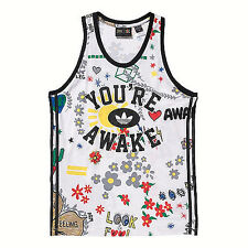 NWT ADIDAS Originals Unisex's PHARRELL WILLIAMS DOODLE Tank Top Sz XS AO2987