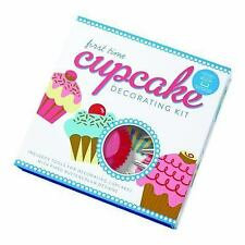FIRST TIME CUPCAKE DECORATING KIT Includes Tools for Decorating Cupcakes NEW