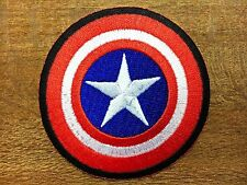 SUPER HERO THE AVENGERS CAPTAIN AMERICA MARVEL EMBROIDERY IRON ON PATCH BADGE