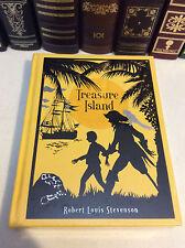 Treasure Island by Robert Louis Stevenson - leather - illus. by N.C. Wyeth - New