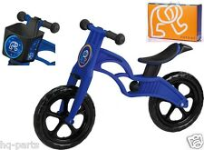 "Pop Bike Children Kids Learning Balance Bike 12"" EN71 & CE Certified Safety BLUE"