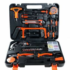 82-Piece Homeowners Tool Kit Household Precision Hand Tools Set with Case - NEW