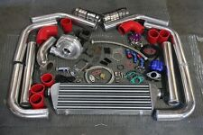 T3/T4 T3 T4 T04E Universal Turbo Charger Kit+ WASTEGATE + INTERCOOLER+ PIPING