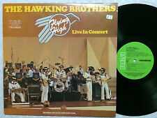 THE HAWKING BROTHERS FLYING HIGH LIVE IN CONCERT 1980 GREEN RCA OZ PRESS LP