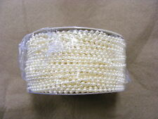 Pearls on String  Ivory 3mm - 25 metres
