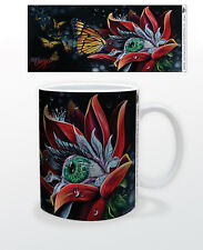 JAMES DANGER MONARCH 11 OZ COFFEE MUG ART POWER ARTIST DECOR PAINTING COOL KING!