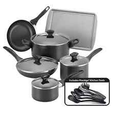 Non Stick Cookware Set Pots And Pans Ceramic Coating 15 Piece Cooking Kitchen