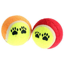Pet Cat Dog Toy Tennis Balls Run Catch Throw Fetch Puppy Funny Play Chew Toys